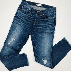 Madewell Skinny Skinny Distressed Jeans
